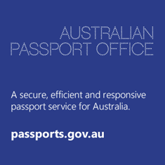 Australian Passports Office, a secure, efficiant and responsive passport service for Australia. passports.gov.au